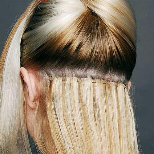 اکستنشن مو به روش رینگ